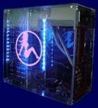 Наклейка гравировочная на окно   Girl   цвет серебристый металик